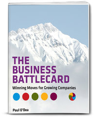 The Business Battlecard Front Cover